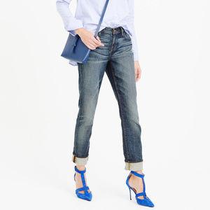 J CREW Slim Broken-In Boyfriend Jeans 26 NWT $138